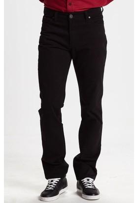 Vena Deluxe Armürlü Gabardin Pantolon Siyah