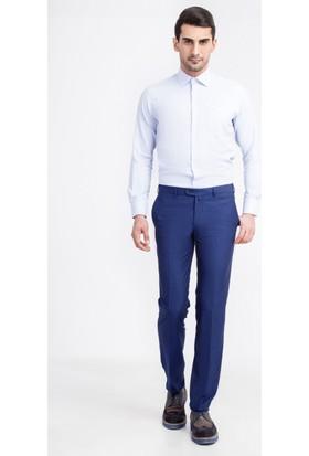 Kiğılı Floransa Kalıp Klasik Desenli Pantolon