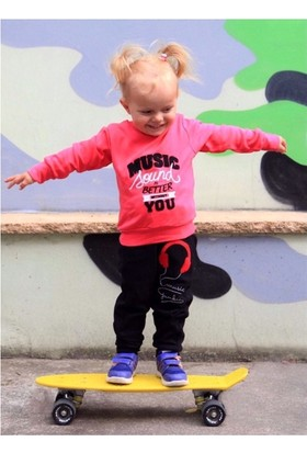 Rg Kids Store Music Kız Çocuk Eşofman Takımı