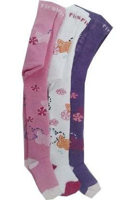 Lababy Kız Bebek - Çocuk Havlu Külotlu Çorap