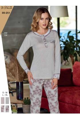 Flz 89-251 Kışlık Bayan Pijama Takımı