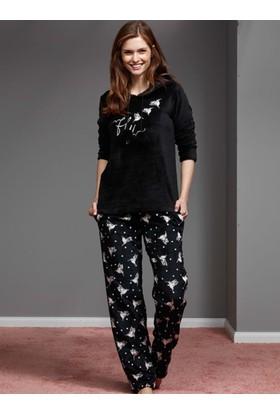 Catherine'S 1111 Kışlık Bayan Pijama Takımı
