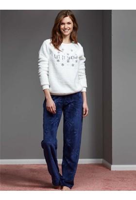 Catherine'S 1125 Kışlık Bayan Pijama Takımı