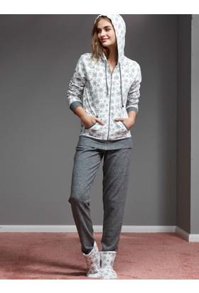 Catherine'S 1127 Kışlık Bayan Pijama Takımı