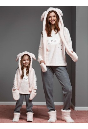 Catherine'S 1159 Kışlık Bayan Pijama Takımı