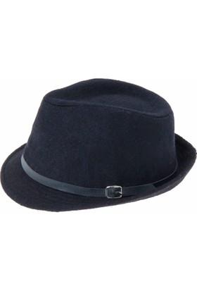 Bay Şapkacı Bayan Çift Renk Kaşe Fötr