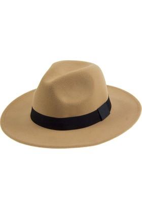 Bay Şapkacı Bayan Geniş Kenar Fötr