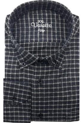 Varetta Büyük Beden Kışlık Yün Gömlek