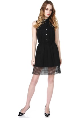 Armani Jeans Kadın Elbise Siyah C5A23 NT