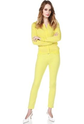 Armani Jeans Kadın Hırka Sarı A5W19 WH