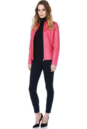 Armani Jeans Kadın Mont Fuşya C5B37 MA