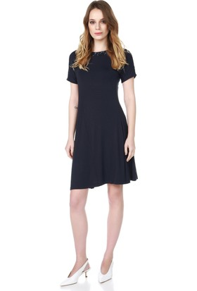 Armani Jeans Kadın Elbise Mavi A5A85 LQ