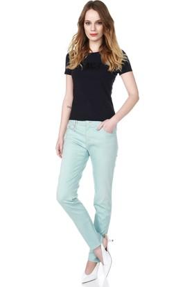 Armani Jeans Kadın T-Shirt Mavi 6X5T01 5J00Z