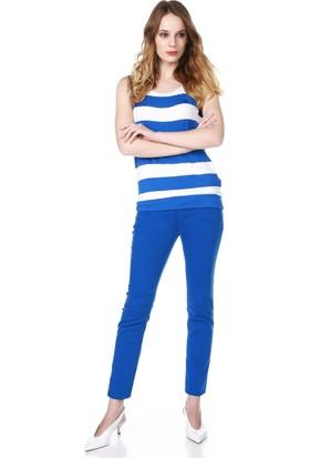 Armani Jeans Kadın Pantolon Mavi A5J06 HJ