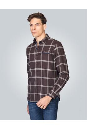 Tudors Slim Fit Kışlık Erkek Gömlek