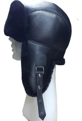 Sanal Bolluk Siyah Pilot Şapka