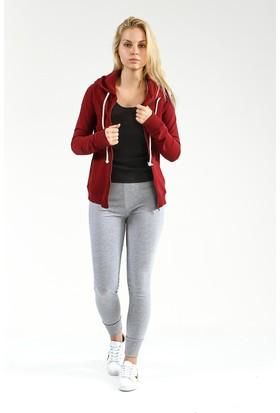 Collezione Kadın Sweatshirt Yogaa Bordo