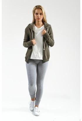 Collezione Kadın Sweatshirt Yogaa Haki