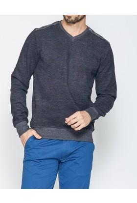 Cazador Erkek V Yaka Sweatshirt 5084
