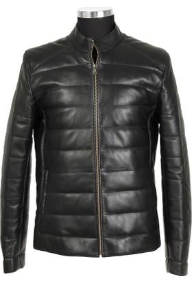 Gön Deri Erkek Ceket Siyah D3502