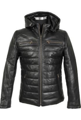 Gön Deri Erkek Ceket Siyah D3503