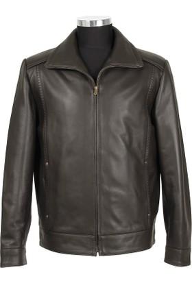 Gön Deri Erkek Ceket Kahverengi D3504