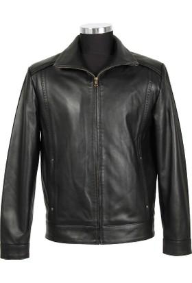 Gön Deri Erkek Ceket Siyah D3504
