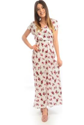 Helly Kadın Desenli Elbise He-4179