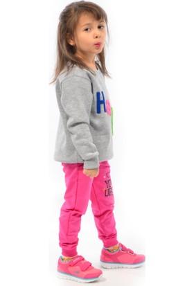 Poyraz Kız Çocuk Paça Ribanalı Eşofman Altı