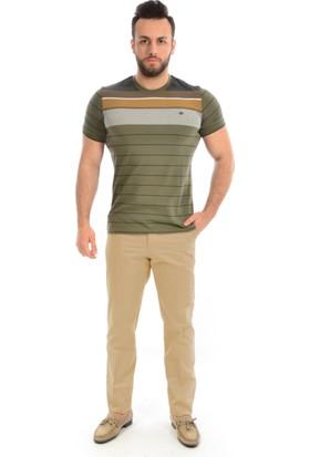 Victor Casai Erkek Keten Pantolon