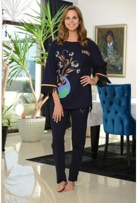 Shirly Bayan Bol Kesim Pijama Takımı