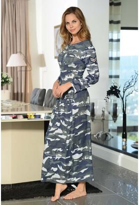 Shirly Dantel Baskılı Elbise