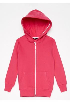 FullaModa Kız Çocuk Kapüşonlu Sweatshirt 18MALAT0005