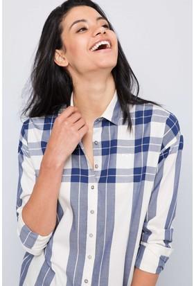 U.S. Polo Assn. Kadın Barkey Gömlek Bej