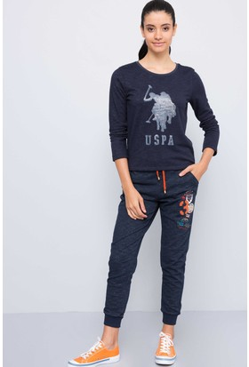 U.S. Polo Assn. Kadın Homfit Eşofman Lacivert