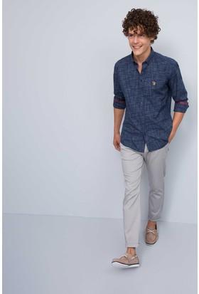 U.S. Polo Assn. Erkek Kenn7Y-Ing Pantolon Gri