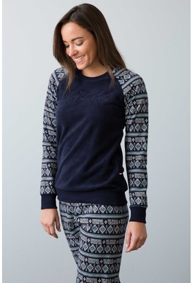 U.S. Polo Assn. Kadın 15918 Pijama Lacivert