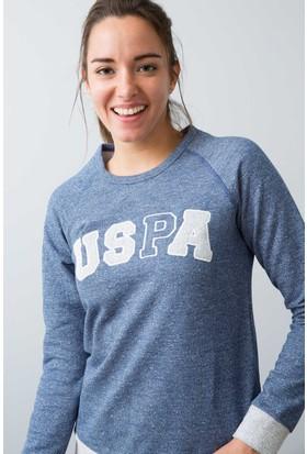 U.S. Polo Assn. Kadın 15957P Pijama Mavi