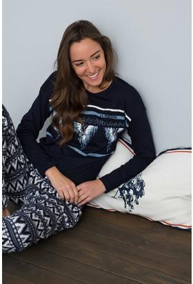 U.S. Polo Assn. Kadın 15958P Pijama Lacivert