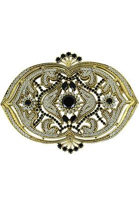 Tevuli 925 Ayar Gümüş Otantik Gümüş Broş Br09079