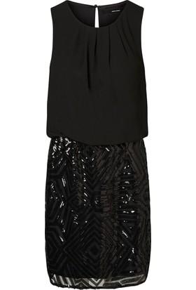 Vero Moda Bayan Elbise Siyah 10188009