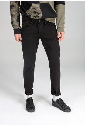 LTB Erkek Sawyer Crinkle Black Wash Jean Pantolon Siyah