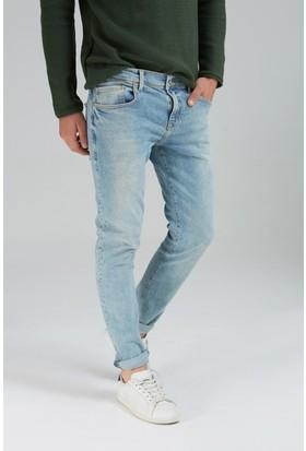 LTB Erkek Diego Fredrick Wash Jean Pantolon Açık Mavi