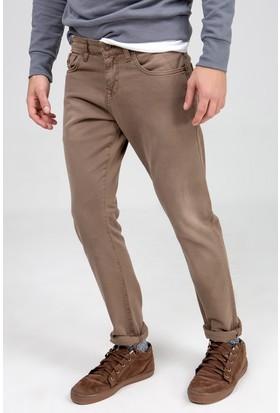 LTB Erkek Joshua Mid Coffee Jean Pantolon Kahverengi