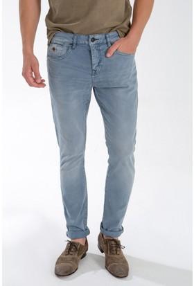 591e247324ebb LTB Erkek Joshua Cool Air Undamaged Wash Jean Pantolon Açık Mavi ...