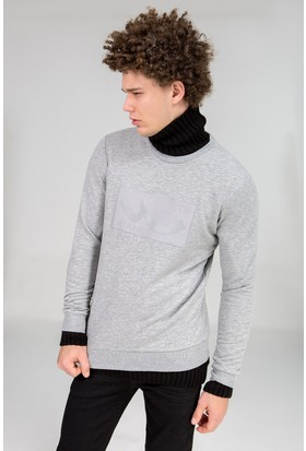 LTB Erkek Girewa Sweatshirt Gri