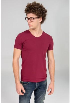 LTB Erkek Falgon T-Shirt Bordo