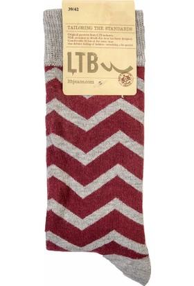 LTB Erkek Forafe Çorap Kırmızı