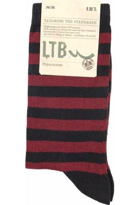 LTB Kadın Pibeje Çorap Kırmızı