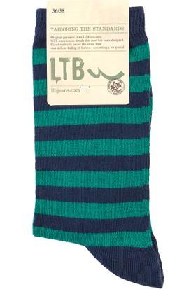 LTB Kadın Pibeje Çorap Yeşil
